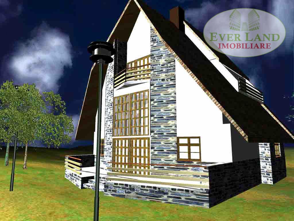 Teren Sinaia proiect casa